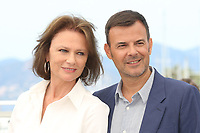 JACQUELINE BISSET AND DIRECTOR FRANCOIS OZON - PHOTOCALL OF THE FILM 'L'AMANT DOUBLE' AT THE 70TH FESTIVAL OF CANNES 2017
