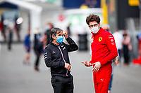 July 2nd 2021; F1 Grand Prix of Austria, free practise sessions;  BRIVIO Davide (ita), Racing Director of Alpine F1 Team, BINOTTO Mattia (ita), Managing Director of the Scuderia Ferrariia -