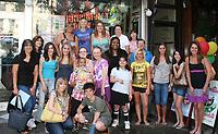 Kristen Alderson fan gathering NYC Aug 2009
