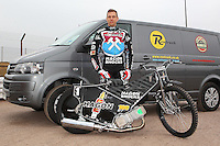 Andreas Jonsson of Lakeside Hammers - Lakeside Hammers Speedway Press & Practice Day at Arena Essex Raceway - 20/03/15 - MANDATORY CREDIT: Gavin Ellis/TGSPHOTO - Self billing applies where appropriate - contact@tgsphoto.co.uk - NO UNPAID USE