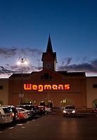 Wegmans supermarket exterior, New Jersey, USA