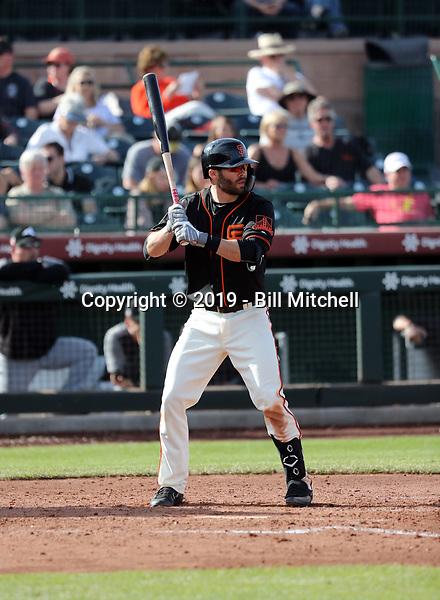 Levi Michael - San Francisco Giants 2019 spring training (Bill Mitchell)