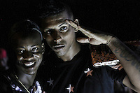 Cuban next generation. Young people in a disco rave in downtown Havana