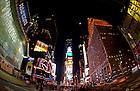 Nov. 18, 2010; Times Square, New York City..Photo by Matt Cashore/University of Notre Dame