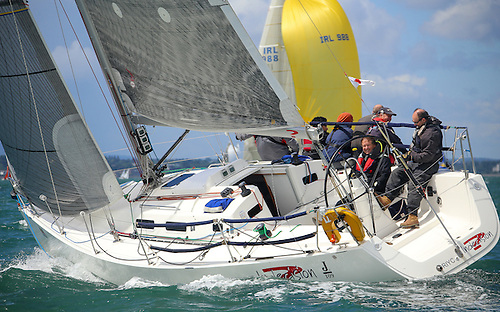 Popular J109s race in DBSC Cruisers One division Photo: Afloat
