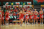 Netball World Cup Qualifiers.<br /> Wales v Scotland<br /> Wales National Sports Centre<br /> 31.05.14<br /> ©Steve Pope-SPORTINGWALES