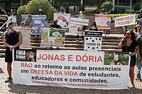 13/09/2020 - PROTESTO DE PROFESSORES CONTRA A VOLTA AS AULAS EM CAMPINAS