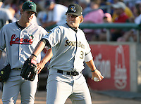 Brett Anderson of the South Bend Silverhawks during the Midwest League All-Star game.  Photo by:  Mike Janes/Four Seam Images