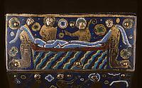 Europe/France/Limousin/23/Creuse/Guéret: Musée municipal - Chasse de Thomas Becket - Ensevelissement de Becket