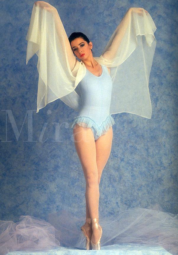 Ballet dancer, dressed in blue. ballerina. ballet dancer, woman, women, female.