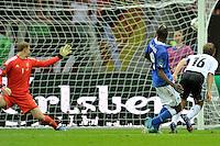 """Il gol di Mario Balotelli .Varsavia 28/06/2012  """"Stadion Narodowy"""".Football calcio Europeo 2012 Germania Vs Italia.Football Calcio Euro 2012.Foto Adam Nurkiewicz/Panoramic/Insidefoto"""