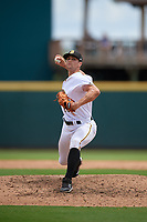 Bradenton Marauders relief pitcher Drew Fischer (23) during a Florida State League game against the Charlotte Stone Crabs on April 10, 2019 at LECOM Park in Bradenton, Florida.  Bradenton defeated Charlotte 2-1.  (Mike Janes/Four Seam Images)