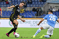 Roberto Inglese of Parma , Stefan Radu of SS Lazio <br /> Roma 22-9-2019 Stadio Olimpico <br /> Football Serie A 2019/2020 <br /> SS Lazio - Parma Calcio <br /> Foto Andrea Staccioli / Insidefoto