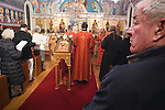 Christmas Eve Vigil Service, St. Sava Serbian Orthodox Church, Jackson, Calif.