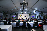 The Media Centre during the Asia Pacific Amateur Golf Championship Round Three, Royal Wellington Golf Course, Wellington, New Zealand, 28 October2017.  Photo: Simon Watts/www.bwmedia.co.nz