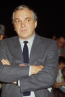 Montreal (Qc) CANADA - 1987 File photo  - - Ed Broadbent<br /> <br /> PHOTO :  Agence Quebec Presse