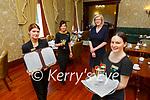 Nicole Williams, Sonya Smith, Josephine Varhelyi and Eimear Corridan all set to welcome you to the Cahernane House Hotel