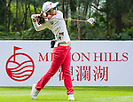 Hye Youn Kim of Koreain action during the Hyundai China Ladies Open 2014 Pro-am on December 10 2014, in Shenzhen, China. Photo by Xaume Olleros / Power Sport Images