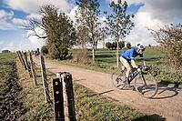 Aaron Van Poucke (BEL/Sport Vlaanderen - Baloise)<br /> <br /> 82nd Gent-Wevelgem in Flanders Fields 2020 (1.UWT)<br /> 1 day race from Ieper to Wevelgem (232km)<br /> <br /> ©kramon