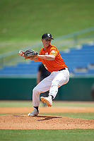 Daniel Dewey (26) of Rockvale High School in Murfreesboro, TN during the Perfect Game National Showcase at Hoover Metropolitan Stadium on June 20, 2020 in Hoover, Alabama. (Mike Janes/Four Seam Images)