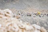 publicity caravan coming up the Mont Ventoux<br /> <br /> Stage 11 from Sorgues to Malaucène (199km) running twice over the infamous Mont Ventoux<br /> 108th Tour de France 2021 (2.UWT)<br /> <br /> ©kramon