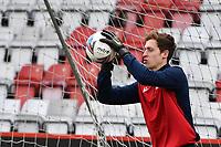 Jamie Cumming of Stevenage FC during Stevenage vs Barrow, Sky Bet EFL League 2 Football at the Lamex Stadium on 27th March 2021