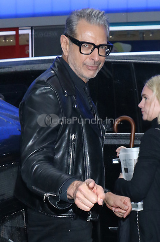NEW YORK, NY- November 12: Jeff Goldblum at Good Morning America promoting the new Disney Plus series The World According Jeff Goldblum on November 12, 2019 in New York City. Credit: RW/MediaPunch