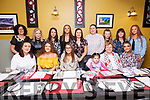 Quadruple Birthday Party: Family members Emma Browne, Saoirse Galvin, Eileen Breen & Eileen Carey who celebrated their birthdays together at Eabha Joan's Restaurant, Listowel on Saturday night last. Front: Megan Galvin, Emma Browne, Saoirse Galvin, Maci Gleeson, Eileen Breen & Elise Harris. Back : Diane Browne, Catherine Galvin, Elaine Breen, Hayley Flynn, Mary Flynn, Eileen Carey, Shauna Breen, Elaine Breen & Eva Flynn.