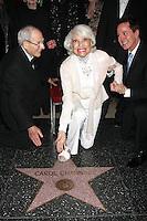 Carol Channing 90th Birthday & With Her WOF Star