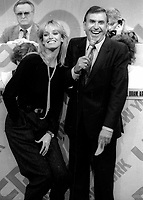 Susan Anton and TV Host Dennis James 1978 Photo by Adam Scull-PHOTOlink.net