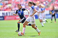 Cleveland, Ohio - June 5, 2016: The USWNT go up 1-0 over Japan during in an international friendly at FirstEnergy Stadium.