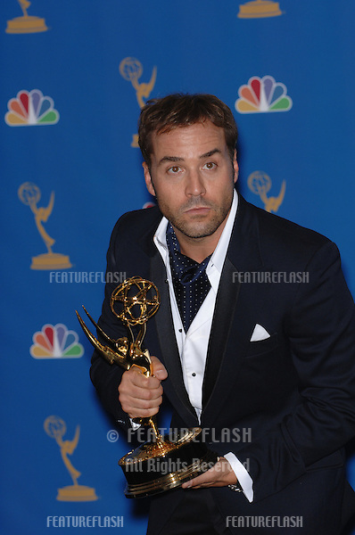 """""""Entourage"""" star JEREMY PIVEN at the 2006 Primetime Emmy Awards at the Shrine Auditorium, Los Angeles..8 27, 2006 Los Angeles, CA.© 2006 Paul Smith / Featureflash"""