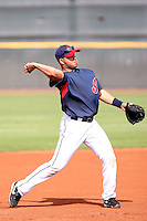 Jhonny Peralta. Cleveland Indians spring training workouts at their complex in Goodyear, AZ - 03/06/2010.Photo by:  Bill Mitchell/Four Seam Images.