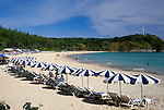 Thailand, Phuket, Nai Harn Beach at south-west coast
