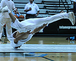 """Tulane Men's and Women's Basketball teams are introduced to students and fans in """"Late Night at Fogelman"""".  The Cheerleading Squad, Shockwave, New Orleans Honeybees and French Quarter Flyers performed for the crowd."""