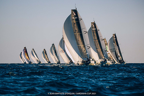 Dun Laoghaire and Greystones campaigners Kenny Rumball and Pamela Lee in the first leg of the Sardinha Cup