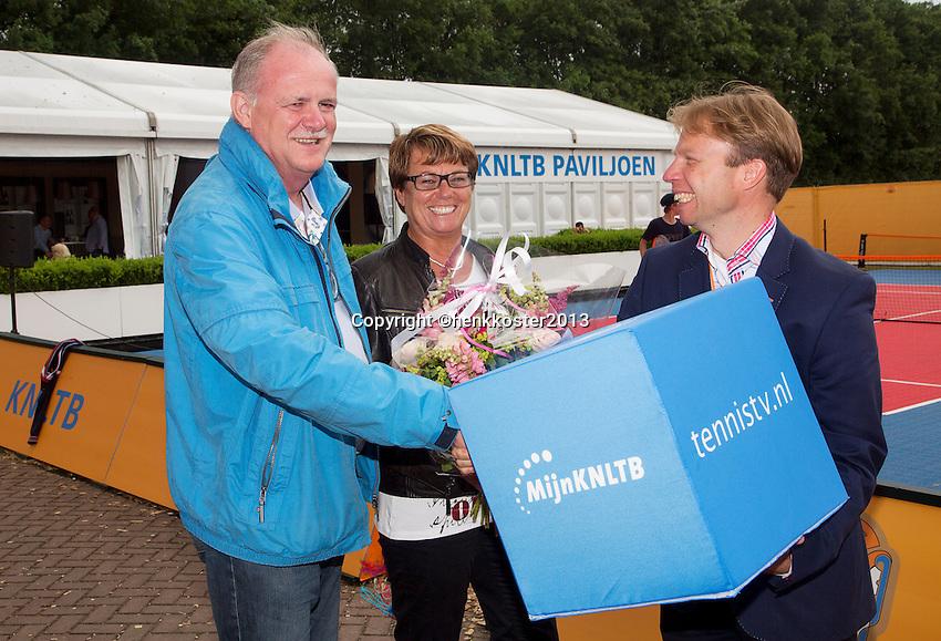 21-06-13, Netherlands, Rotterdam,  TV Victoria, Tennis, NJK 2013, National Junior Tennis Championships 2013, <br /> <br /> <br /> Photo: Henk Koster