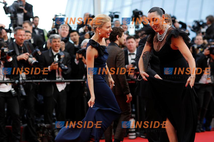 Sienna Miller - Rossy de Palma <br /> Festival del Cinema di Cannes 2015<br /> Foto Panoramic / Insidefoto