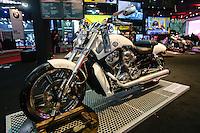 SÃO PAULO, SP, 06.10.2015 - DUAS-RODAS - Harley Davidson durante abertura para imprensa no Salão Duas Rodas no Anhembi região norte da cidade de São Paulo nesta terça-feira, 06. (Foto: Vanessa Carvalho/Brazil Photo Press)