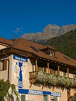Sennerei  in Mittelplars, Algund bei Meran, Region Südtirol-Bozen, Italien, Europa<br /> dairy in Mittelplars, Lagundo near Merano, Region South Tyrol-Bolzano, Italy, Europe