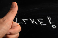like word written on board<br />