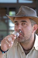 George Salpiggidis, viticultural director. Mount Athos. Tsantali Vineyards & Winery, Halkidiki, Macedonia, Greece.