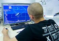 """Airlight Energy, Biasca,progettazioneCAM """"CATIA"""" per collettore solare"""