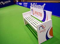December 18, 2014, Rotterdam, Topsport Centrum, Lotto NK Tennis, KNLTB bench<br /> Photo: Tennisimages/Henk Koster
