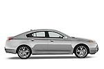 Passenger side profile view of a 2009 - 2014 Acura TL SH AWD Sedan.