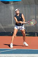 SAN ANTONIO, TX - APRIL 8, 2006: The Nicholls State University Colonels vs. The University of Texas at San Antonio Roadrunners Women's Tennis at the UTSA Tennis Center. (Photo by Jeff Huehn)