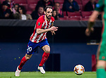 Juan Francisco Torres Belen, Juanfran, of Atletico de Madrid in action during the UEFA Europa League 2017-18 Round of 16 (1st leg) match between Atletico de Madrid and FC Lokomotiv Moscow at Wanda Metropolitano  on March 08 2018 in Madrid, Spain. Photo by Diego Souto / Power Sport Images