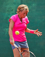Netherlands, Amstelveen, August 22, 2015, Tennis,  National Veteran Championships, NVK, TV de Kegel,  Lady's 40+, Marouschka van Dijk<br /> Photo: Tennisimages/Henk Koster