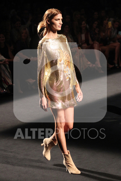 Laura Sanchez at the L'Oreal Paris anniversary fashion show during the Mercedes Benz Fashion Week Spring/Summer 2020 at Ifema on July 10, 2019 in Madrid, Spain.(ALTERPHOTOS/ItahisaHernadez)