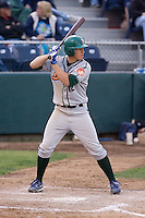 June 22, 2008: The Boise Hawks' Josh Vitters, the Chicago Cubs' #1 prospect according to Baseball America, at-bat during a Northwest League game against the Everett AquaSox at Everett Memorial Stadium in Everett, Washington.
